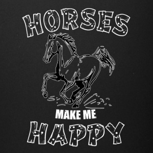 HORSES MAKE ME HAPPY - Full Color Mug