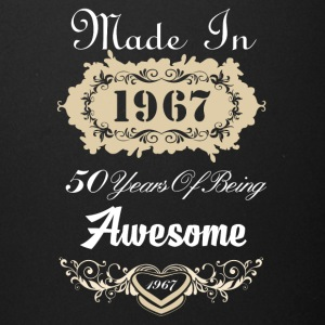Made in 1967 50 years of being awesome - Full Color Mug