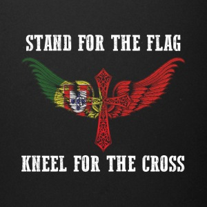 Stand for the flag Portugal kneel for the cross - Full Color Mug