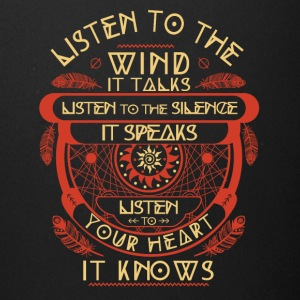 Listen to the wind It talks listen to the silence - Full Color Mug