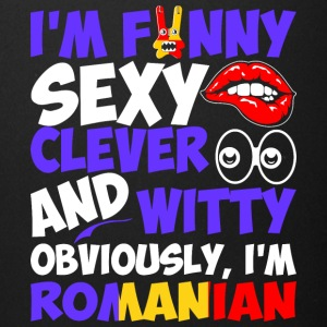 Im Funny Sexy Clever And Witty Im Romanian - Full Color Mug