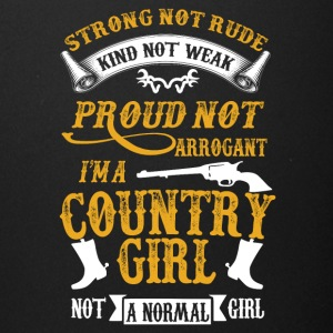 I'm a Country-girl not a normal girl - Full Color Mug