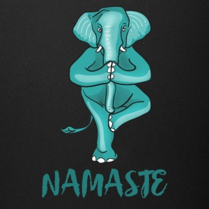 elephant namaste yoga balance humour gym karma lol - Full Color Mug