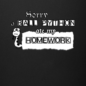 Sorry A Ball Python Ate My Homework Tee Shirt - Full Color Mug