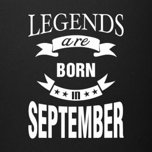 Legends are born in September - Full Color Mug