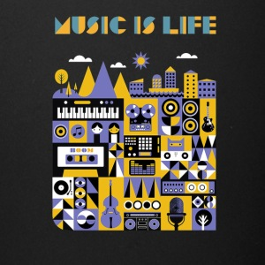 music is life shirt - Full Color Mug