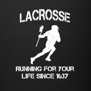 Lacrosse - Running for your life since 1637 - Full Color Mug