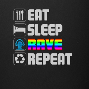 eat sleep rave repeat t-shirt - Full Color Mug