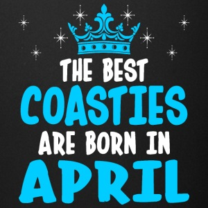 The Best Coasties Are Born In April - Full Color Mug