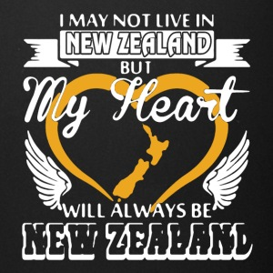 My Heart Will Always Be New Zealand - Full Color Mug