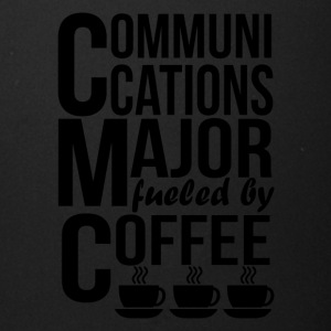 Communications Major Fueled By Coffee - Full Color Mug