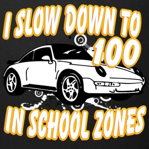 I_slow_down_to_100_in_school_zones_white - Full Color Mug