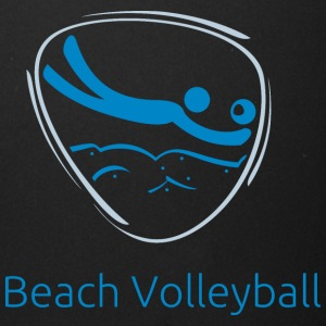 Beach_volleyball_blue - Full Color Mug