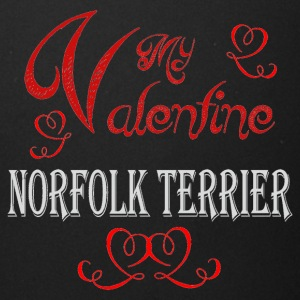 A romantic Valentine with my Norfolk Terrier - Full Color Mug