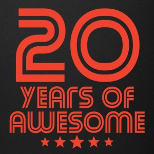 20 Years Of Awesome 20th Birthday - Full Color Mug