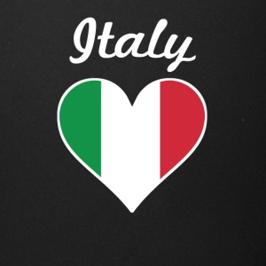 Italy Flag Heart - Full Color Mug