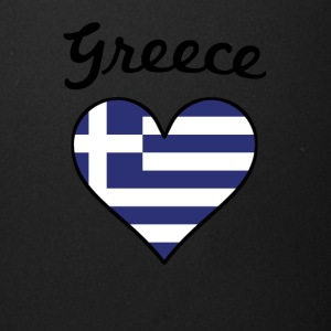 Greece Flag Heart - Full Color Mug