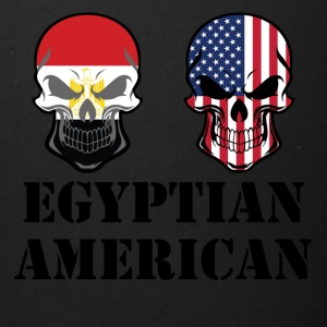 Egyptian American Flag Skulls - Full Color Mug