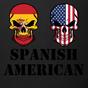 Spanish American Flag Skulls - Full Color Mug