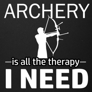Archery is my therapy - Full Color Mug