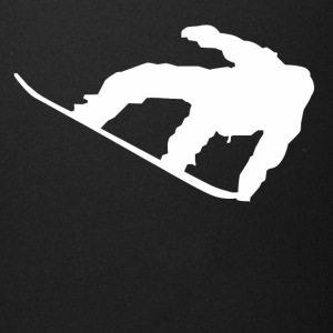 Snowboarder Silhouette Snowboarding - Full Color Mug