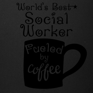 World's Best Social Worker Fueled By Coffee - Full Color Mug