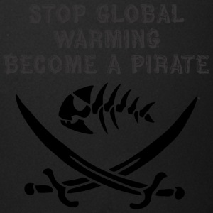 stop global warming and become a pirate - Full Color Mug