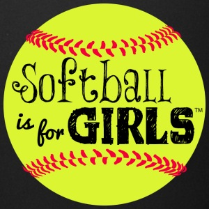 softball is for girls - Full Color Mug