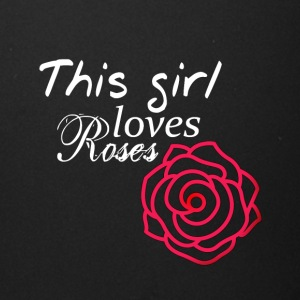 This girl loves Roses - Full Color Mug