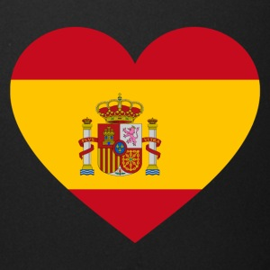 Spain Flag Love Heart Patriotic Pride Symbol - Full Color Mug