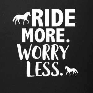 Ride more worry less - Full Color Mug