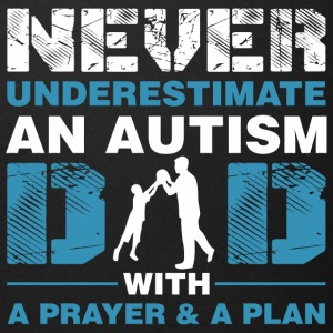 Never Underestimate An Autism Dad With A Prayer An - Full Color Mug