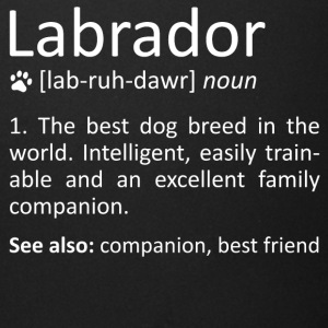 Labrador Definition Awesome Dog Breed Meaning Gift - Full Color Mug