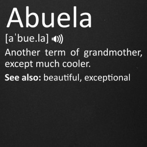 Abuela Definition Funny Gift For Spanish Grandmoth - Full Color Mug