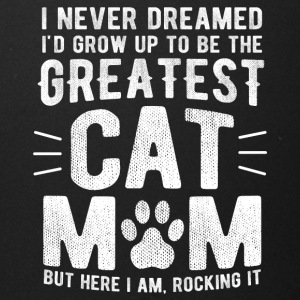 Never Dreamed To Be The Greatest Cat Mom Funny - Full Color Mug