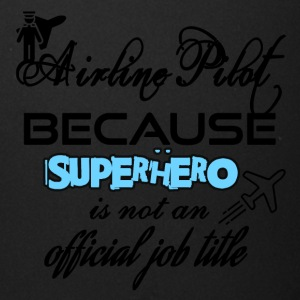 Airline pilot because superhero is not a job title - Full Color Mug