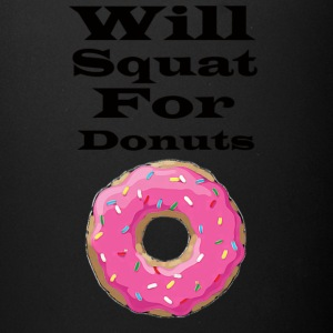Will squat for donuts - Full Color Mug
