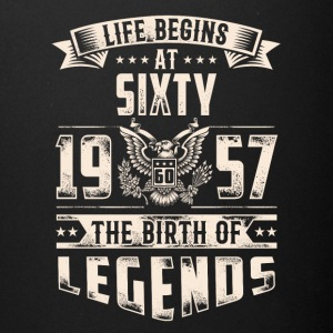 Life Begins At Sixty The Birth Of Legends tshirt - Full Color Mug