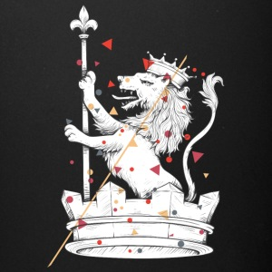 lion with crown - Full Color Mug