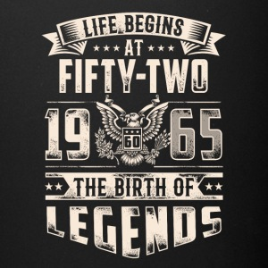 Life Begins At Fifty Two Tshirt - Full Color Mug