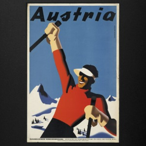 Austria Skier - Full Color Mug