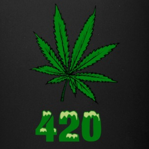 420 POT MARIJUANNA WEED LEAF - Full Color Mug