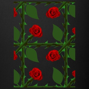 Red Rosen Pattern - Full Color Mug