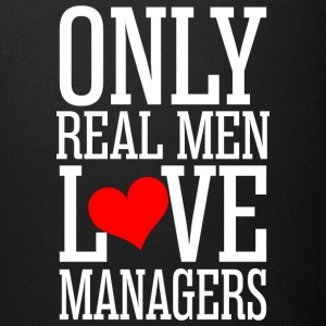 Only Real Men Love Managers - Full Color Mug