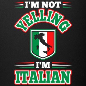 Im Not Yelling Im Italian - Full Color Mug