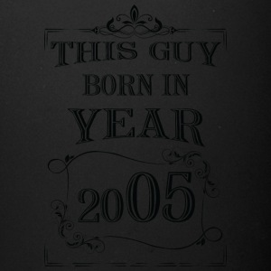 this guy born in year 2005 black - Full Color Mug