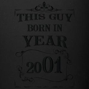 this guy born in year 2001 black - Full Color Mug