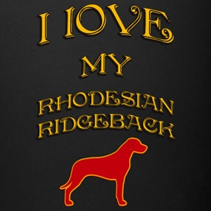 I LOVE MY DOG Rhodesian Ridgeback - Full Color Mug