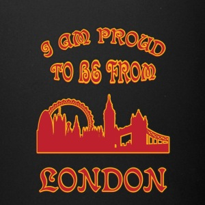 London I am proud to be from - Full Color Mug