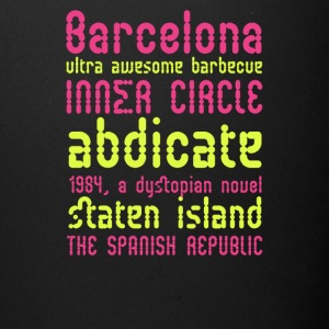 Barcelona ultra awesome barbecue - Full Color Mug